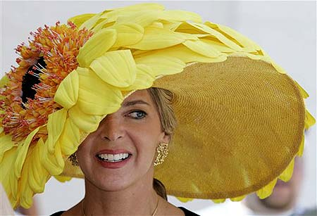 Sunflower Derby Hat