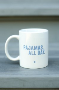 pajamasallday-mug