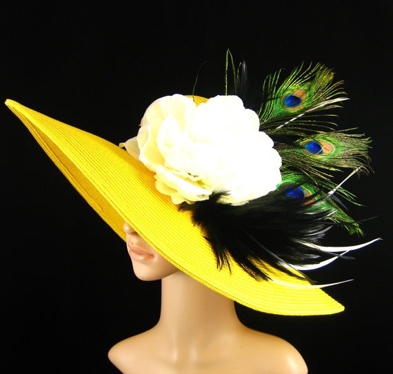 yellow-peacockhat